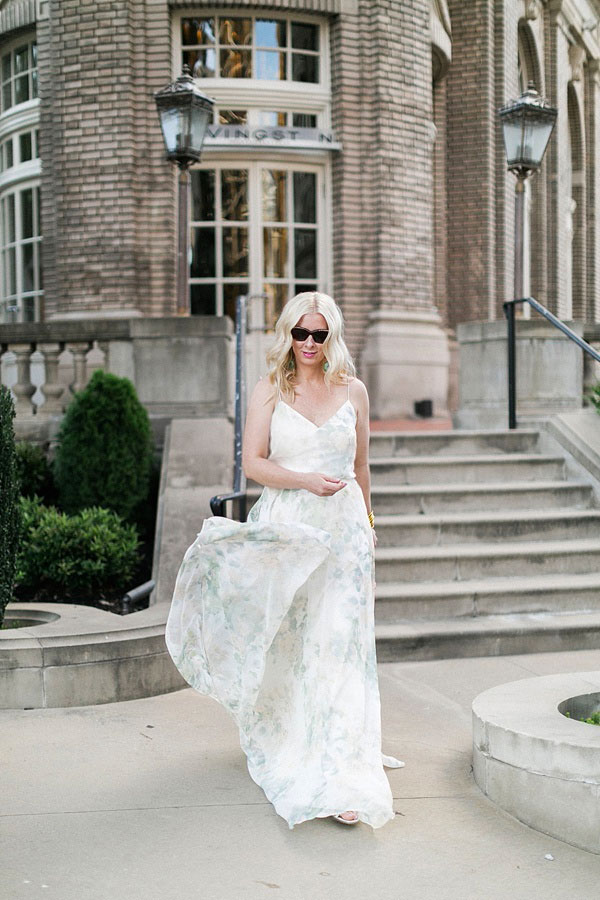 Summer wedding guest outfit ideas via Waiting on Martha
