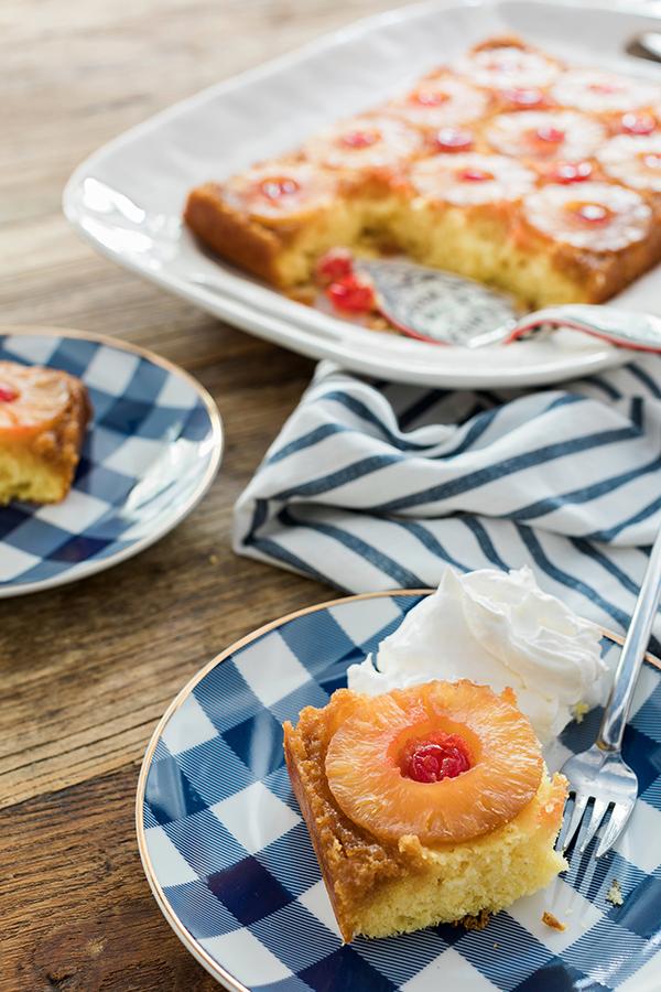 Pineapple Upside Down Cake recipe | Waiting on Martha