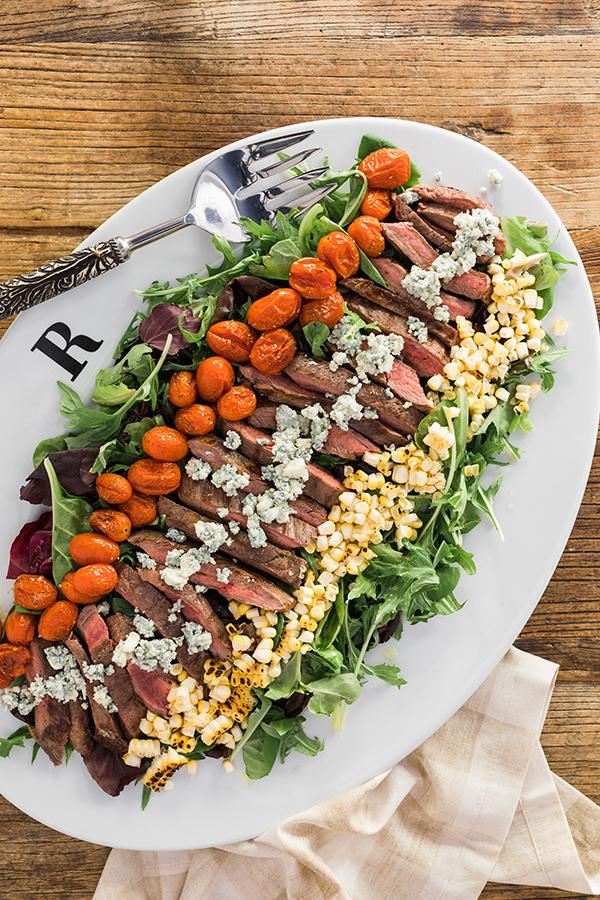 Steakhouse Salad on Waiting on Martha