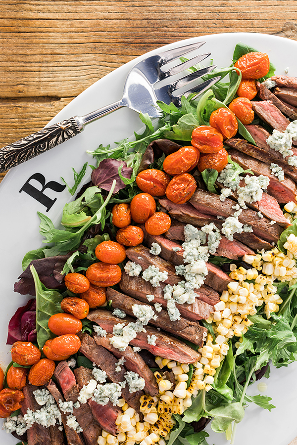 Steakhouse salad recipe on Waiting on Martha