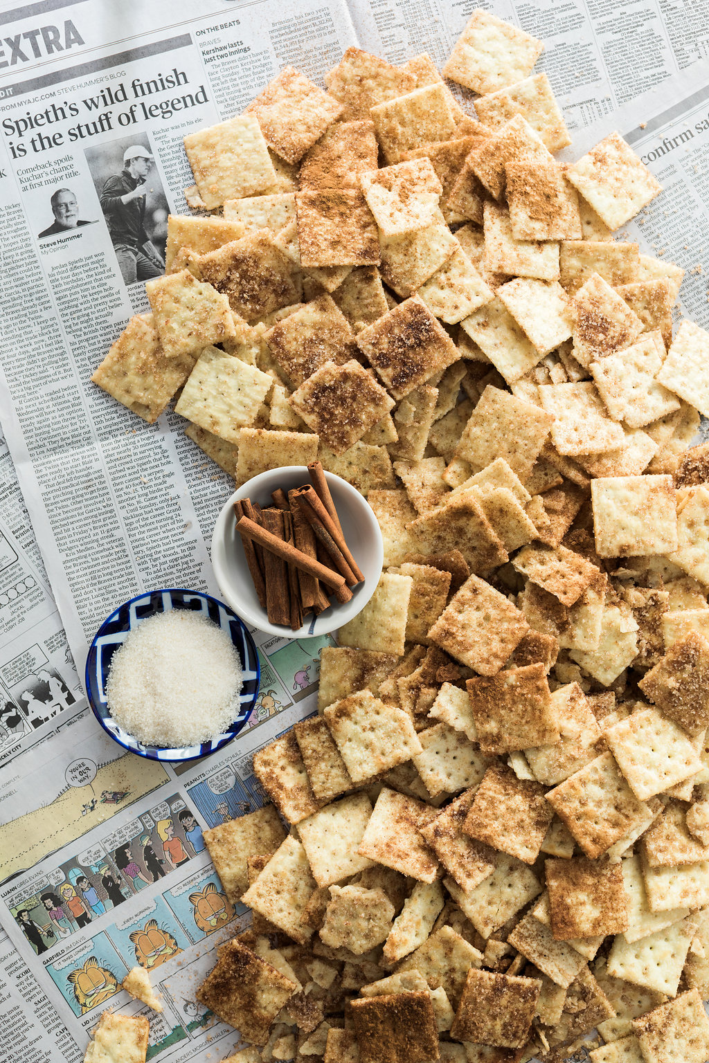 Cinnamon crackers recipe on Waiting on Martha