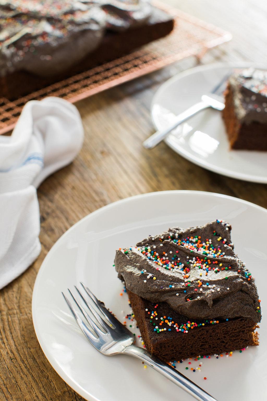 Chocolate espresso buttercream frosting recipe on Waiting on Martha