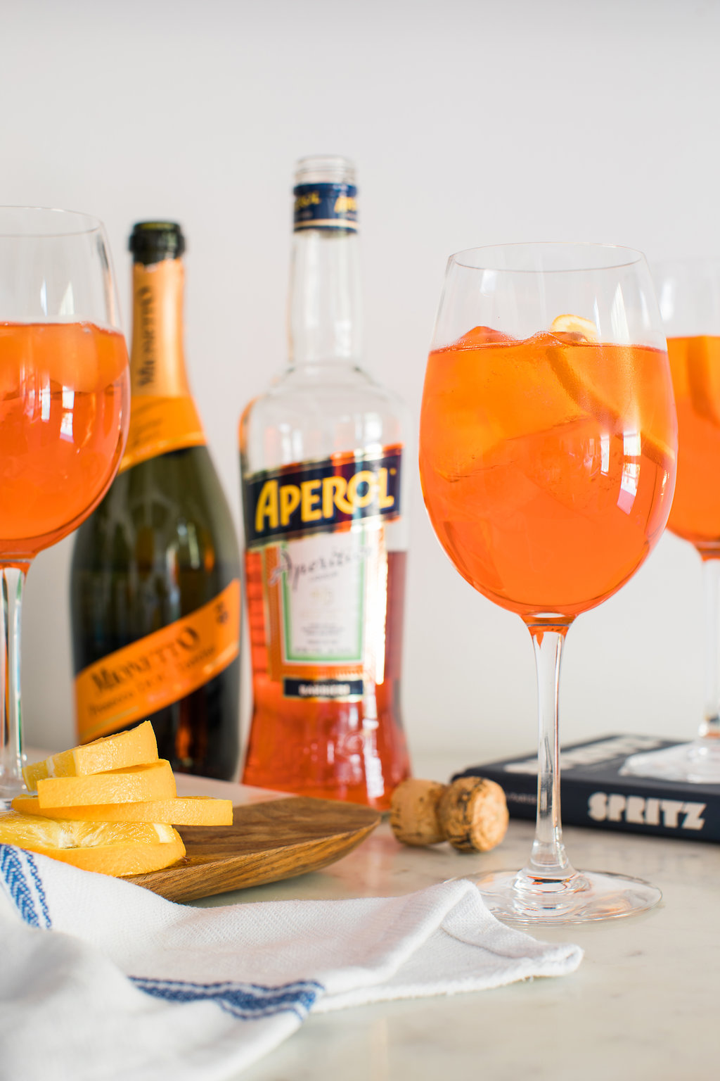The Aperol Spritz, recipe on Waiting on Martha