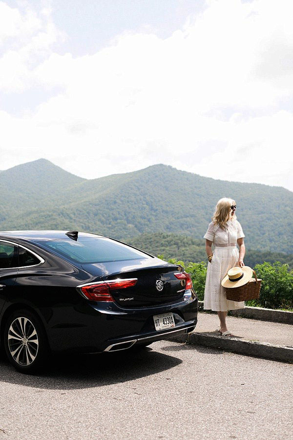 Blueridge Parkway with Buick and Waiting on Martha