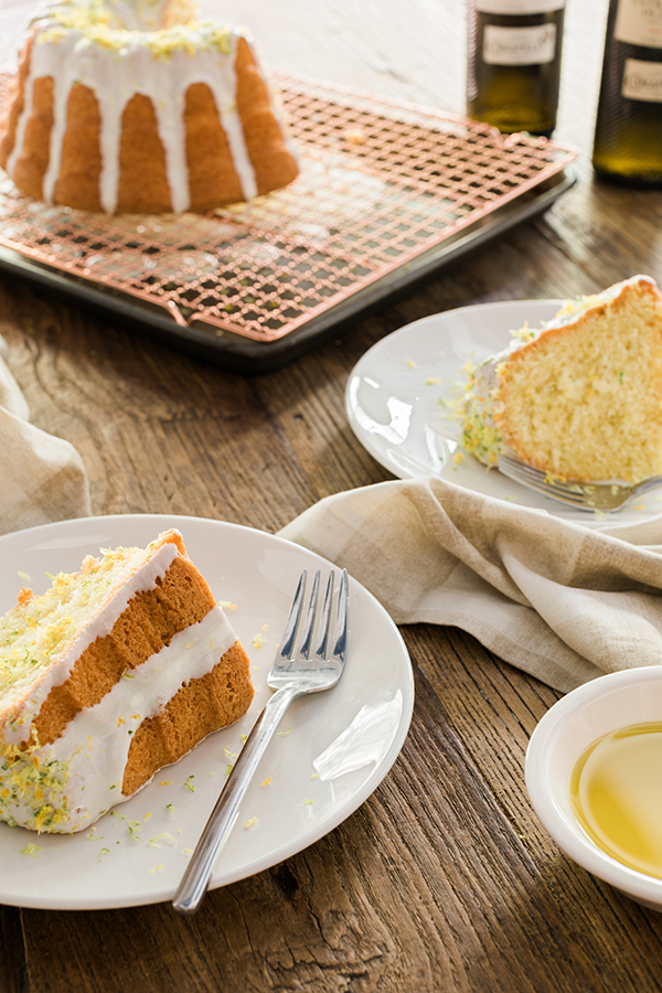 Olive oil bundt cake on Waiting on Martha