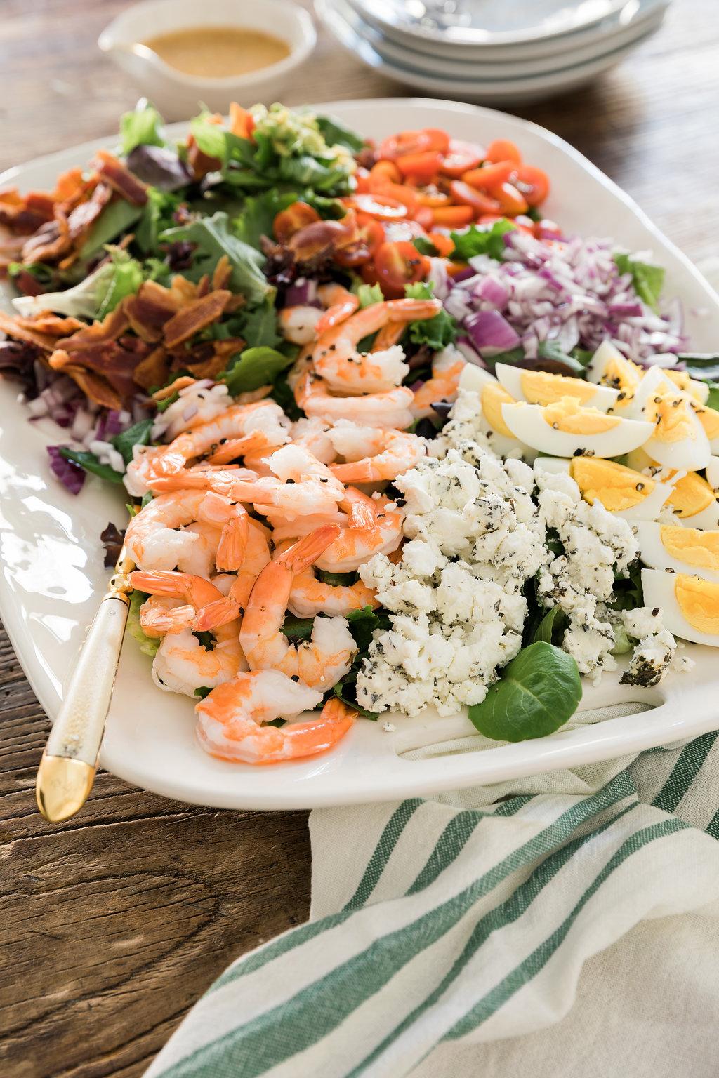 Shrimp Cobb Salad, Waiting On Martha