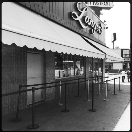 Langer's, Los Angeles. August 2014