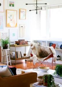 Mid Century Modern Bohemian Interior Design