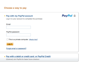 paypal-Creditcard-payment