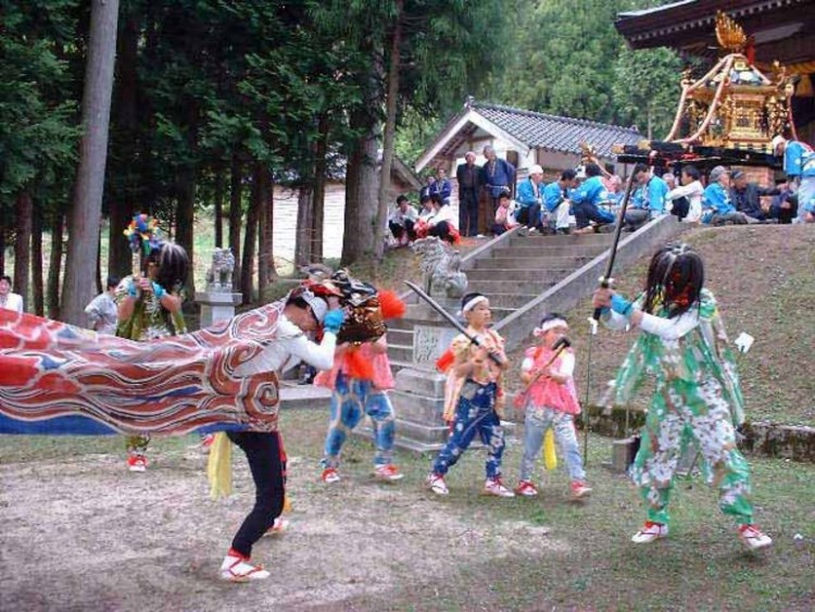 大幡郷社祭