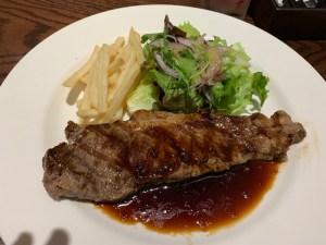 1100円のステーキ