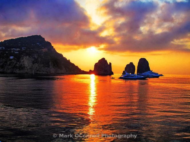 Capri- sunrise