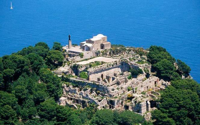 Capri-villa jovis