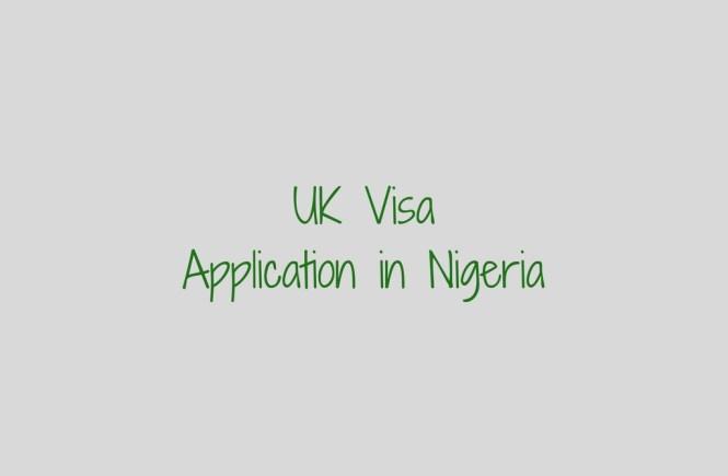UK visa in Nigeria