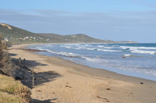 Eastern View Beach, looking East