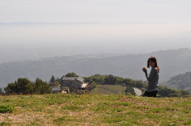 Jr at the top of Monte Bello