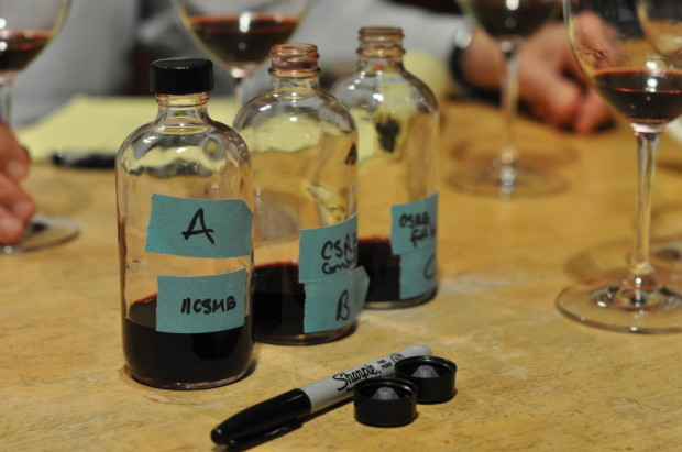 Blind tasting trials of the 2011 blends