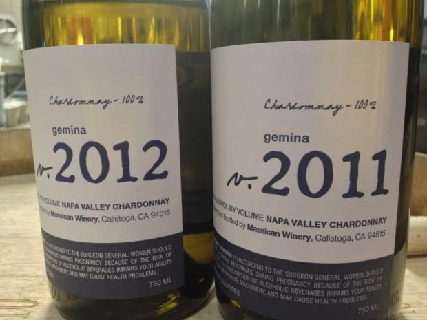 the Chardonnay, Massican