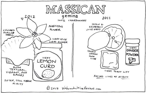 Massican Gemina 2012 and 2011