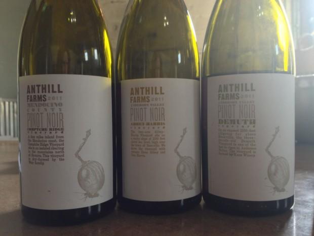 Ant Hill Farm Pinots