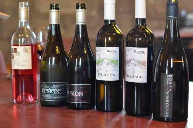 Tasting some Borra Vineyards Wines