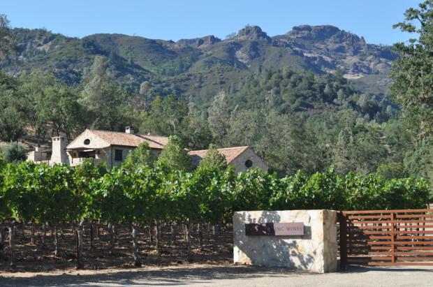 Approaching Kelly Fleming Winery