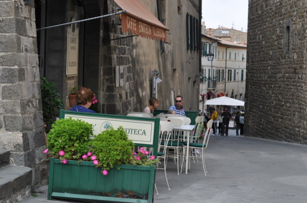 lunch in Montalcino