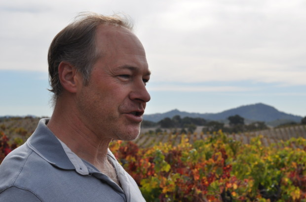 Winemaker John Olney