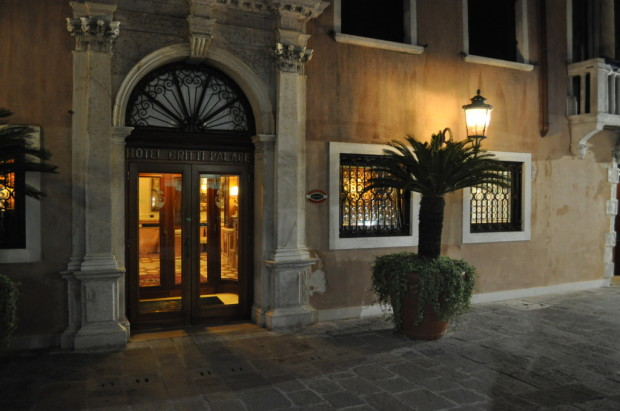 Visiting the Gritti Palace for drinks