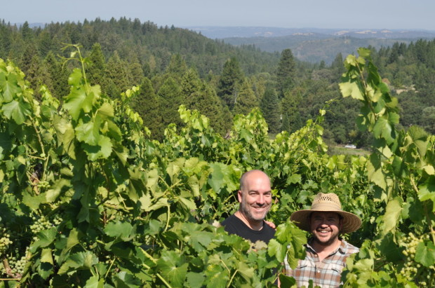 Chris Pittenger and Hardy Wallace, Sierra Foothills