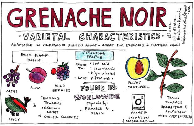 Grenache Noir Characteristics