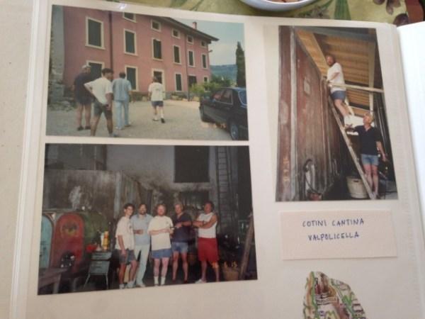 Noel Family Photo Album of Valpolicella, 1996