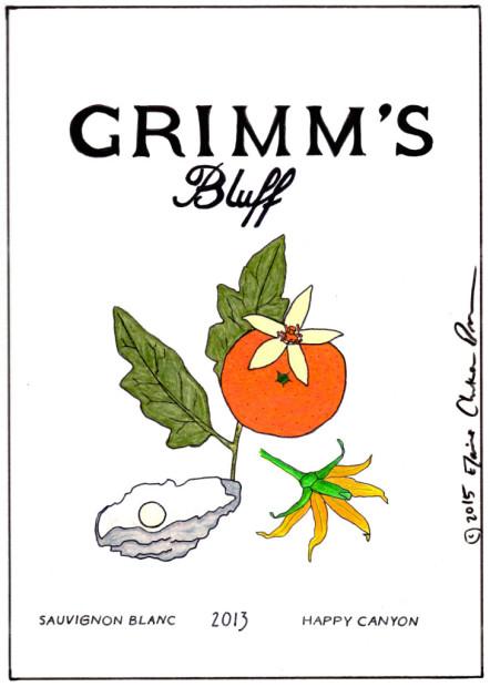 Grimms Bluff 2013 Sauvignon