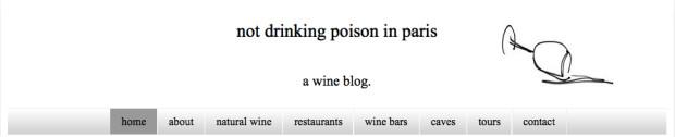 Not Drinking Poison in Paris