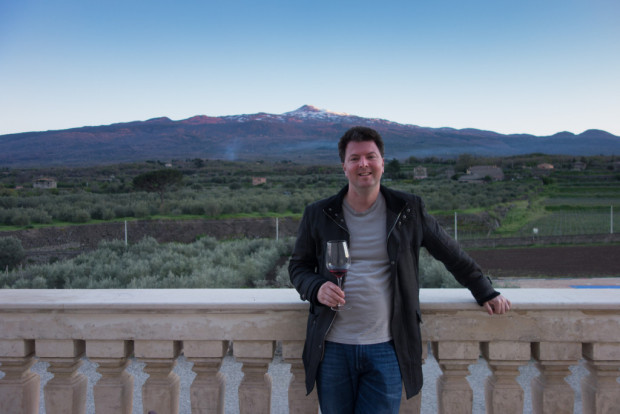 Alder Yarrow at Mt Etna