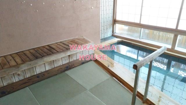Private hot spring in WAKAYAMA KADA.
