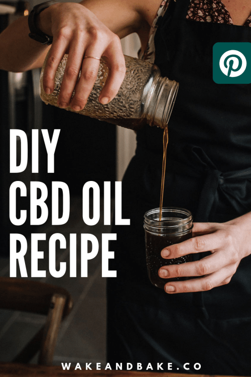 cbd oil recipe pinterest