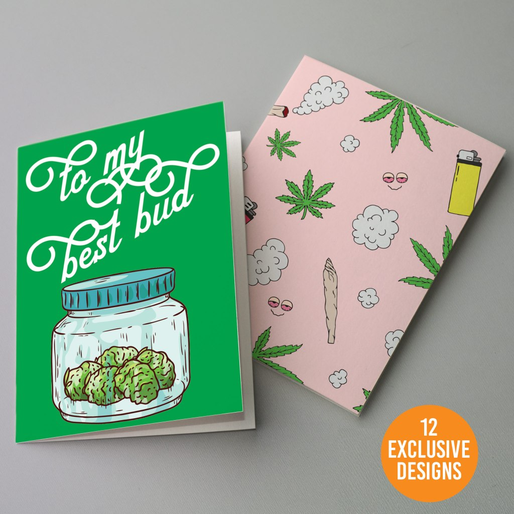 The Ritzy Rose Cannabis Cards