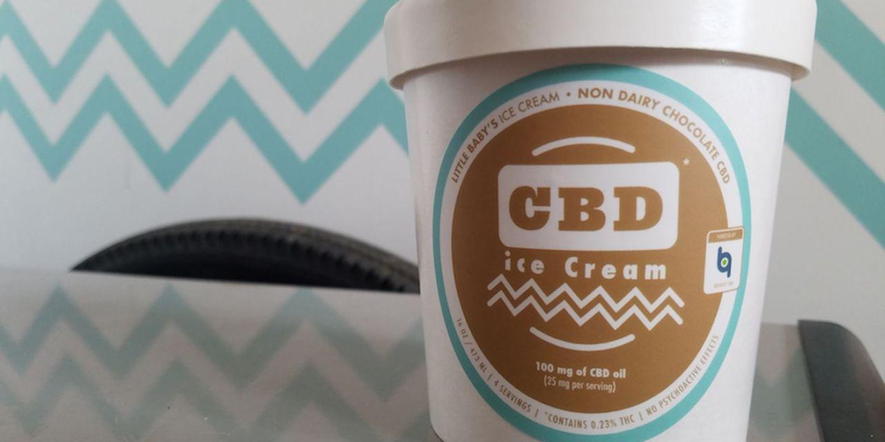 Philadelphia's Little Baby's Ice Cream Release Vegan Choc Dessert Infused with CBD