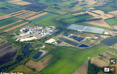 UK: Are Locals Getting Skunky Headaches Off British Sugar's Secret Norfolk Weed Grow ?