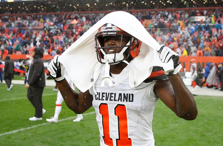 Cleveland Browns wide receiver Antonio Callaway Busted