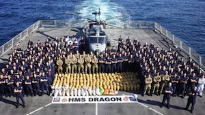 Royal Navy Seizes 3 Tons Of Hash On Hash Highway