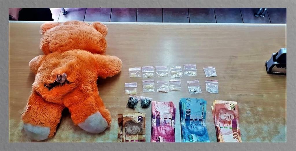 Nigerian Dealer Hides The Weed In A Teddy Bear