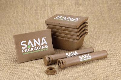 Sana Cannabis Packaging Team Up Oceanworks To Create Recycled Hemp and Bioplastic Offerings