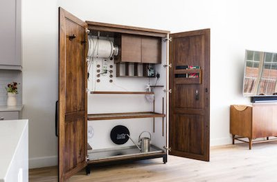 Need A Posh Cabinet To Grown Your Weed In?