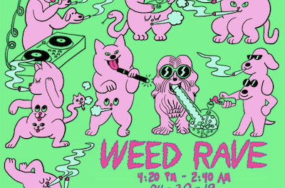 Weed Rave Expands To New York