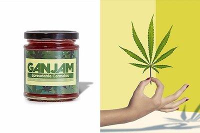 GanJam – Strawberry Jam With Hemp Launched