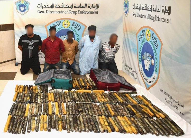 Qatar: 100kg of hashish seized in marble shipment; 5 arrested