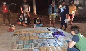 53 bricks of marijuana seized from Cavite couriers