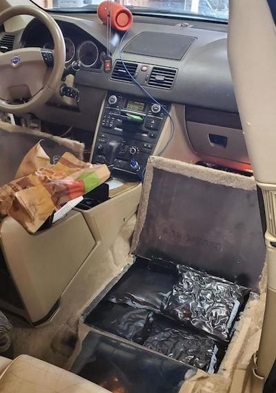 Police I-80 traffic stop nets 100 pounds of weed